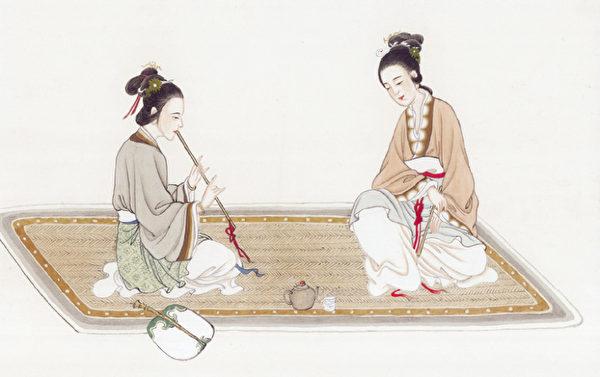 古人认为五音(古人认为宫、商、角、征、羽)与人的五脏(脾、肺、肝、心、肾)有着对应的联系。(大纪元资料图片)