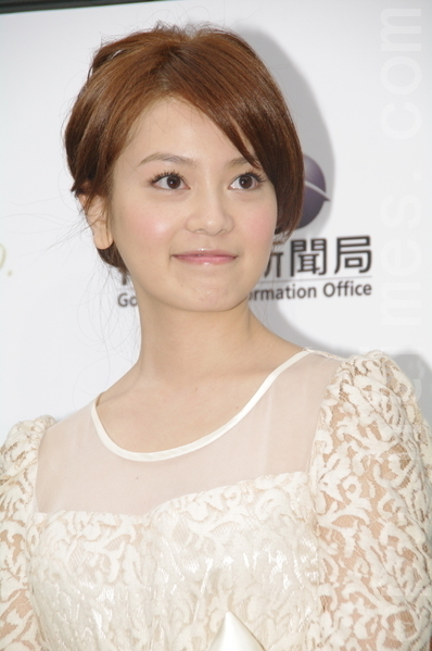 台灣女星喻虹淵資料照。(攝影:黃宗茂/大紀元)