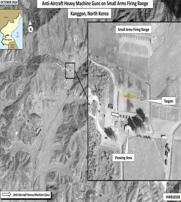 朝鮮人權委員會公布的衛星圖片。(圖片來源:朝鮮人權委員會)