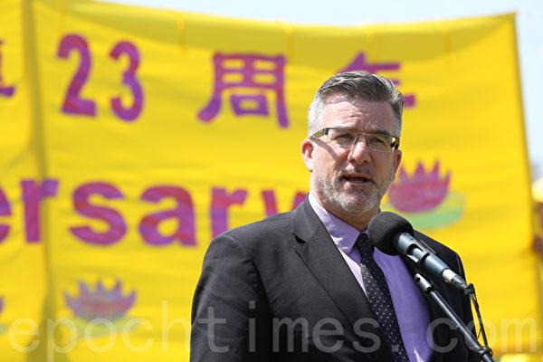 國會議員斯哥特(Craig Scott)(大紀元圖片)