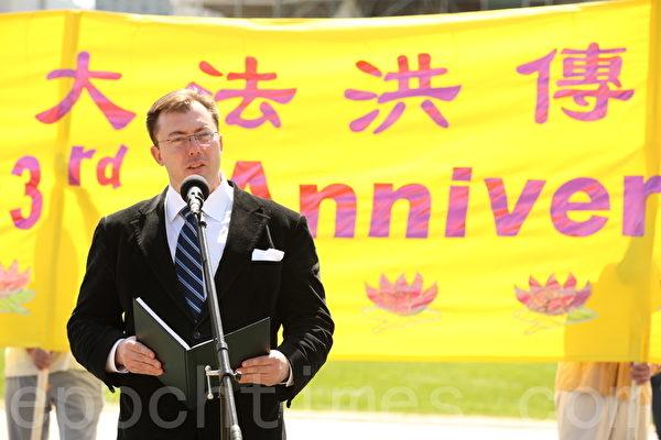 國會議員安德斯(Rob Anders)(大紀元圖片)