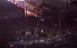美国火车出轨翻覆 传至少5人死亡50人伤
