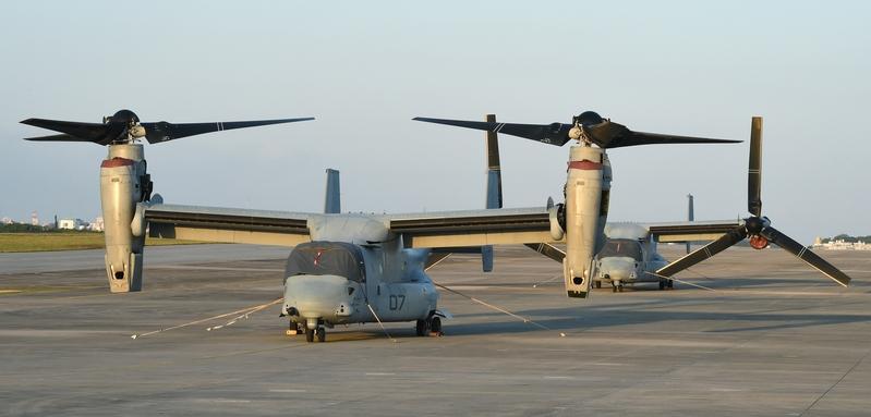 美魚鷹機在夏威夷硬著陸 海陸隊員1死21傷