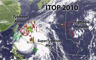 海水温度梯度变化大  反抑制台风发展