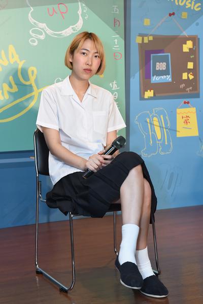王若琳6月2日將發行新專輯《BOB MUSIC》,5月22日舉辦新歌搶聽會。(索尼提供)
