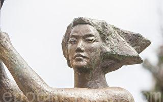 组图:旧金山纪念六四26周年 从沐浴女神像拉开序幕