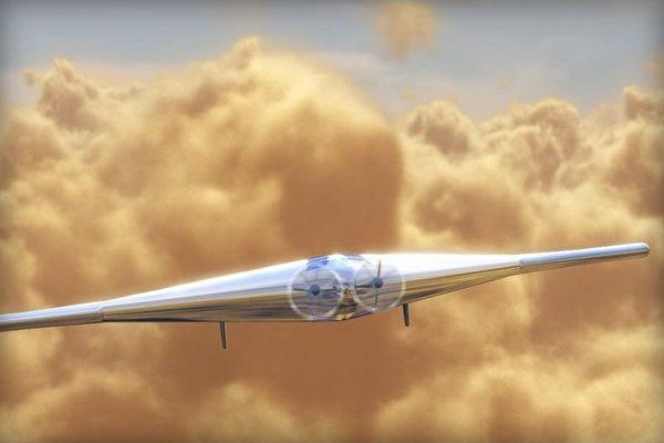 金星太陽能飛船 超強續航力可停留太空1年