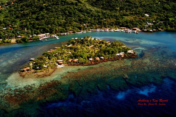 私人小岛Anthony's Key被设计成一个迷你的热带度假胜地。(Anthony's Key提供)