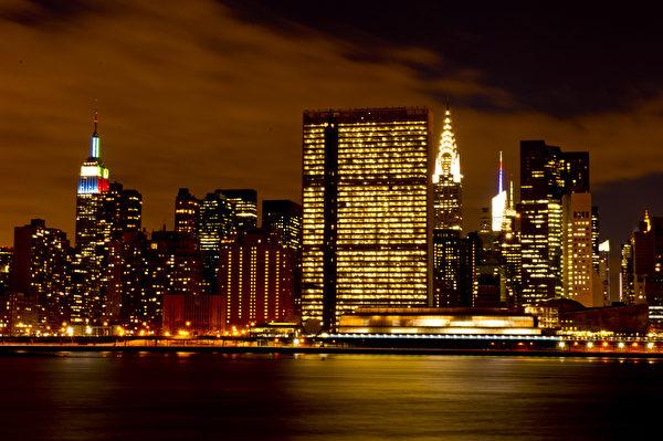 紐約曼哈頓島風光(戴兵 / 大紀元)