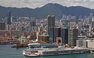 香港高空全景图(摄影:潘在殊/大纪元)