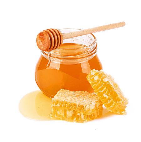 甜蜂蜜和蜂窝。(Fotolia)