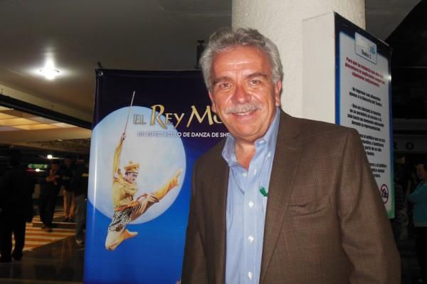 墨西哥知名演员以及剧院总监Jose Elias Moreno先生观看了美国神韵舞剧团5月8日在墨西哥首都墨西哥城的全新巨制舞剧《西游记》首场演出。(李辰/大纪元)