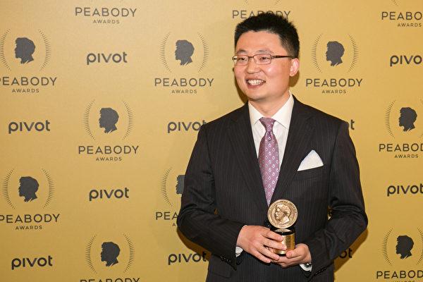 5月31日,加拿大溫哥華華裔導演李雲翔憑藉紀錄片《活摘》(Human Harvest)拿下年度皮博迪紀錄片大獎。(Benjamin Chasteen/英文大紀元)