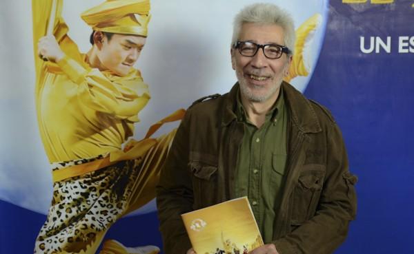演员Eduardo Cutuli先生于6月4日在布宜诺斯艾利斯观看了神韵舞剧《西游记》。(新唐人)