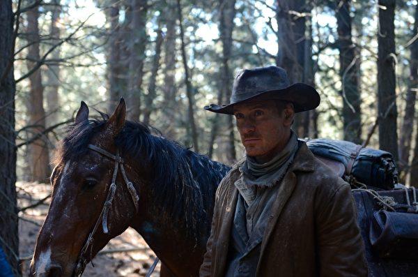 《西部缓慢之死》(Slow West)以好莱坞明星麦可‧法斯宾达(Michael Fassbender)引发影迷关注。(台北电影节提供)