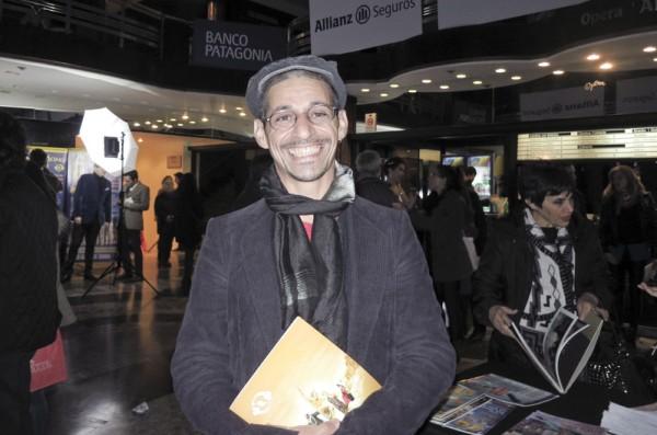 Mariano Gomez先生于6月11日晚在阿根廷首都布宜诺斯艾利斯的Opera剧院观看了神韵舞剧团的《西游记》演出。(林南/大纪元)