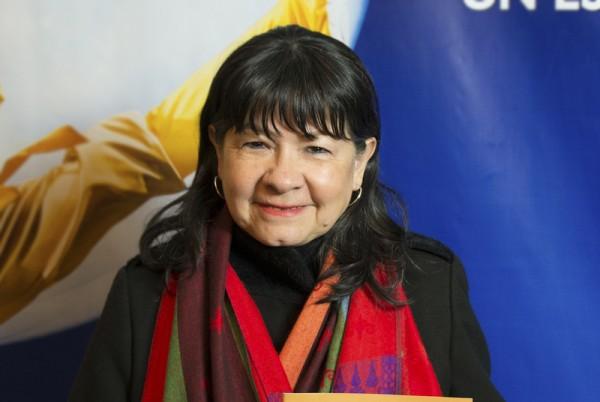 Julia Perie是阿根廷的一位联邦众议员。她于6月11日晚在阿根廷首都布宜诺斯艾利斯的Opera剧院观看了神韵舞剧团的《西游记》演出。(新唐人)
