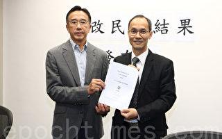 香港政改表決前民調結果各不同