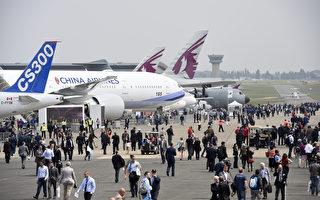 巴黎國際航空展首日 空客波音攬230億訂單