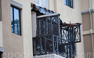 美国伯克利加州大学附近阳台坍塌 6死7伤