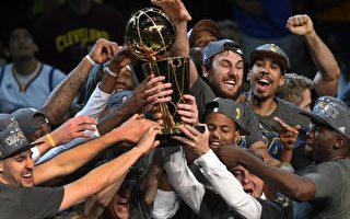 金州勇士击败骑士 圆40年NBA总冠军梦