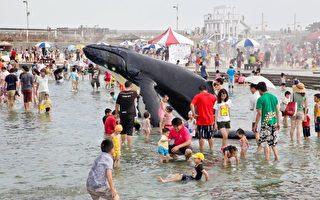 清涼一夏 東石漁人碼頭鯨魚池戲水樂