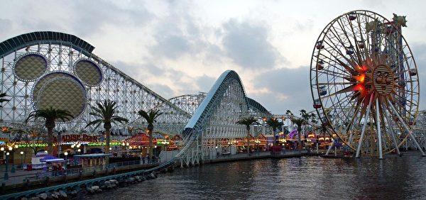 美國加州的迪士尼樂園。(Scott Nelson/AFP/Getty Images)