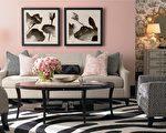 巴塞特设计师设计搭配的客厅。(巴塞特提供)