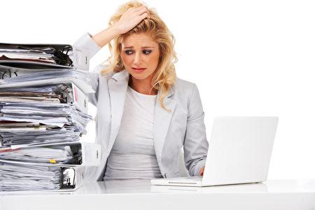 壓力、精神緊張也可能讓你的血脂升高。(Fotolia)