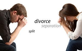 美國嬰兒潮一代離婚率驚人