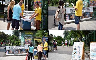 制止中共活摘器官 羅馬尼亞民衆積極支持