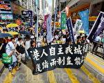 組圖3:七一大遊行 香港精神的象徵