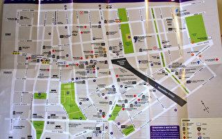 华埠地图面世 资讯详细实用性强