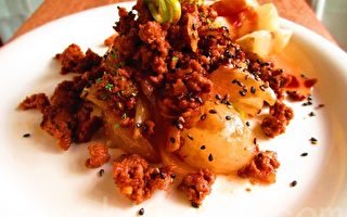 【玩料理】肉燥洋葱佐薯片