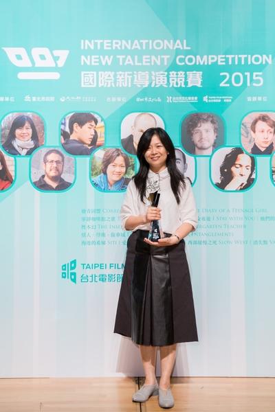观众票选奖由台湾导演姜秀琼的台、日、韩合拍电影《宁静咖啡馆之歌》获得。(台北电影节提供)