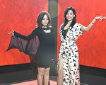 戴愛玲(左)與A-Lin首度合唱,並拍攝MV。(台灣索尼提供)