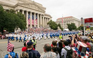 组图:2015美国首都华盛顿独立日大游行