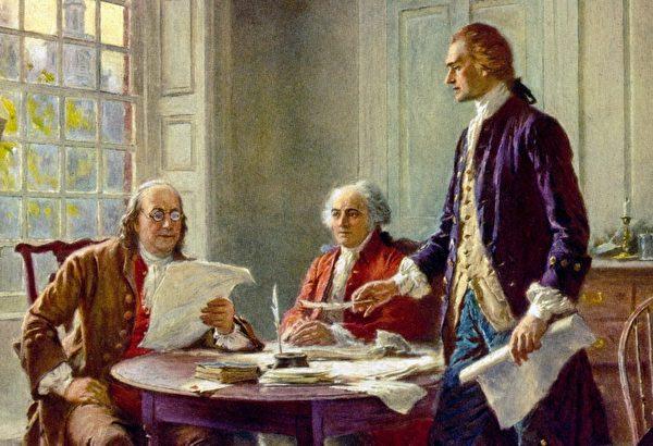 奉创世主意旨 建立美国