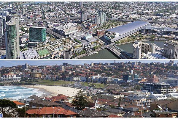 澳洲大城市市中心公寓房价在下跌 构成经济风险