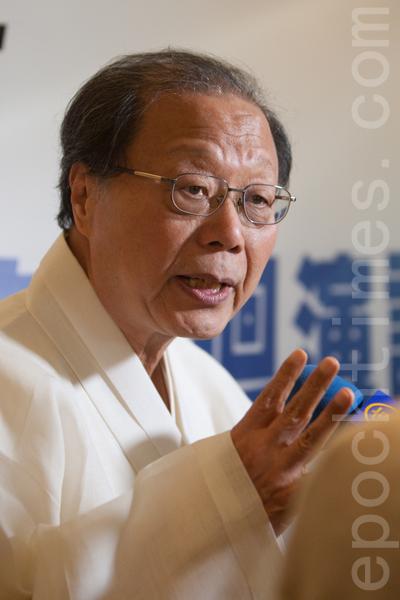 韓國扁康中醫院院長、慶熙大學客座教授徐孝錫的巡迴演講,於7月5日星期日在Milpitas環球廣場的皇冠假日酒店舉行。(馬有志/大紀元)