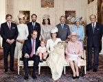 周四(7月9日),英国王室发布了一组夏洛特小公主洗礼的照片。 (Mario Testino/ Art Partner via Getty Images)