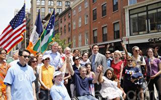 首屆殘障人遊行 見識獨特紐約人