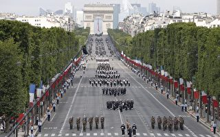 法國國慶日閱兵   向反恐部隊致敬