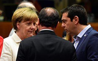 歐元區領袖吵翻天 協議首提「希臘暫退歐」