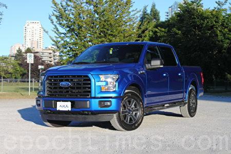 2015 Ford F-150。(李奧/大紀元)