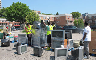 皇后区办回收电子垃圾活动