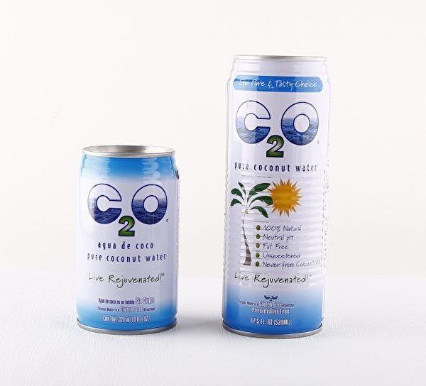 美国公认好喝的椰子水C2O。(图:信男国际提供)