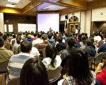 由《大纪元时报》《新唐人电视台》联合主办的2015大学升学教育展将于7月25日(星期六)在亚凯迪亚社区中心(Arcadia Community Center)举行。图为上届教育展。(大纪元)