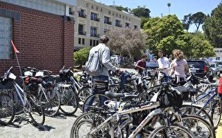 旧金山北湾索萨利托自行车成患 或将限制