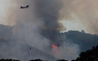 北加州納帕野火快速蔓延 128高速關閉
